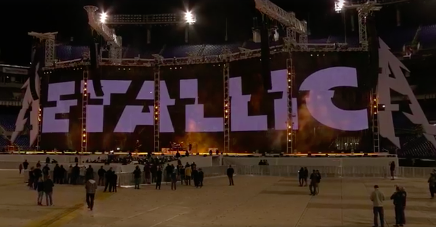 Metallica's Facebook Live Video Draws in over 4 million views